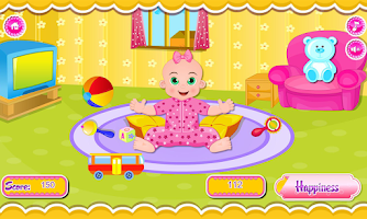 Screenshot of Baby Emily Care Day