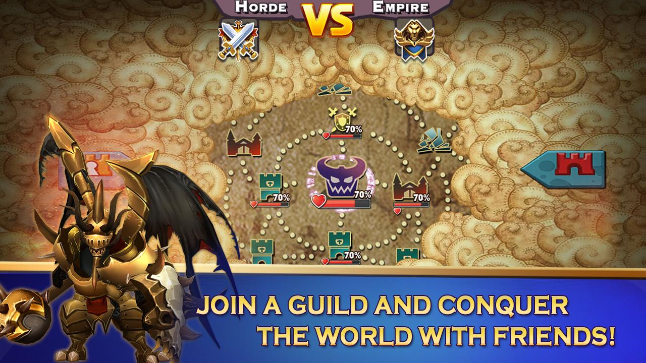 Screenshots of Clash of Lords 2 for iPhone