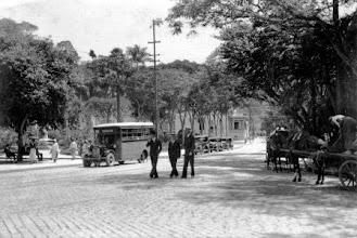 Photo: Praça da Liberdade. Foto sem data