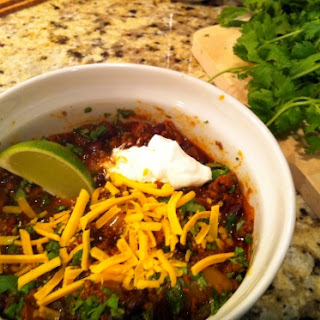 Cilantro, Black Bean and Lime Chili