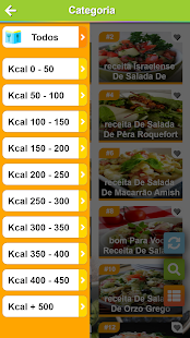 Download Saladas receitas:comida saudável ​​com Nutrição For PC Windows and Mac apk screenshot 3