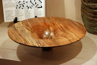 Photo: A classic Phil Brown fluted bowl shares the case