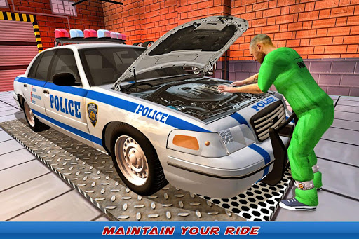 Gas Station Police Car Services: Gas Station Games 1.0 screenshots 3