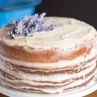 Vanilla Lavender Cake.