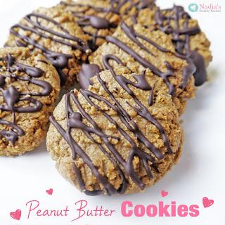 Healthy Peanut Butter Cookies.