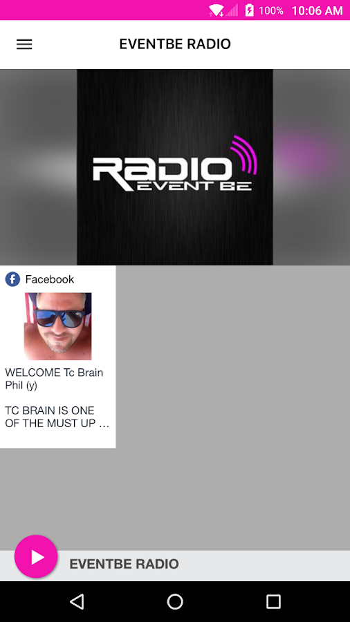 EVENTBE RADIO- screenshot