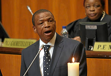 Supra Mahumapelo stepped down as North West premier in May.