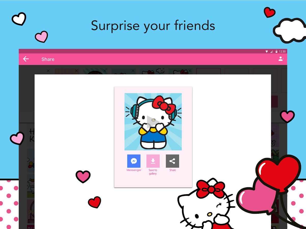 Hello Kitty StoryGIF Apl Android Di Google Play