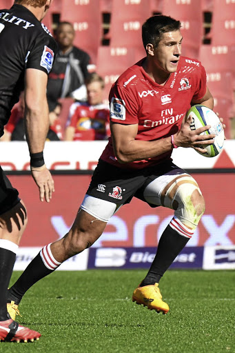 Focused: Harold Vorster says if the Lions play to their potential, they need not worry about the score. Picture: GALLO IMAGES