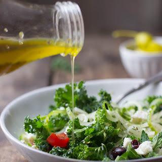Simple Mediterranean Kale Salad Recipe