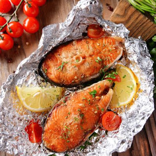 Quick and Easy Baked Salmon Steaks