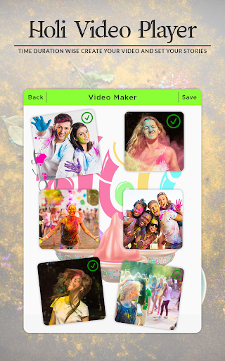 Holi Video Maker 2018 - Holi Slideshow Maker 1.1.0 screenshots 4