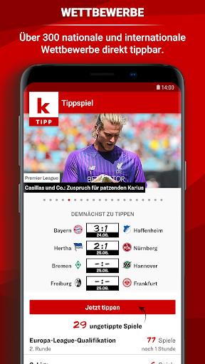 kicker Tippspiel  screenshots 1