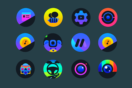 Planet O - Icon Pack Screenshot