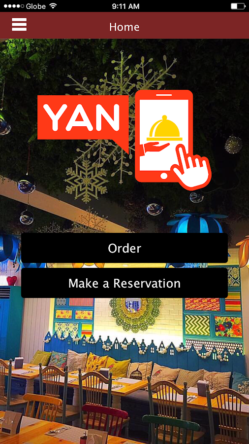 Yan Smart Restaurant- screenshot