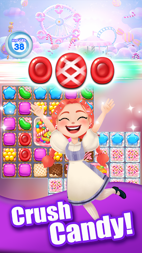 Crush the Candy: #1 Free Candy Puzzle Match 3 Game 1.0.5 screenshots 17