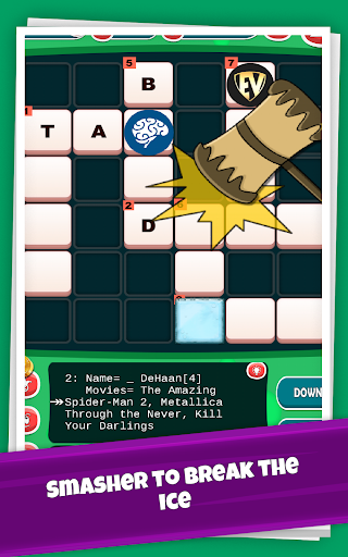 Actors Crossword Puzzle Game, Guess Hollywood Name  screenshots 11