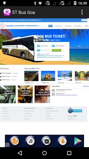 ST Bus Goa New