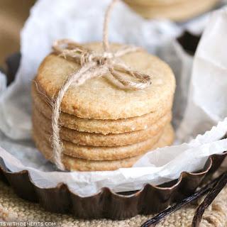 Healthy Shortbread Cookies.