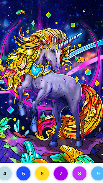 🎨Relax Color: Antistress coloring book for adults Android App Screenshot