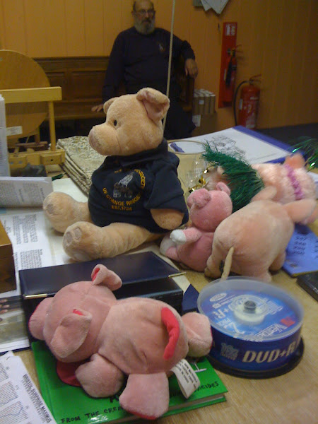 Photo: Christ Church pig collection i