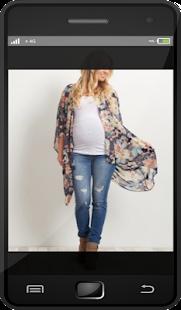 Nápady na mateřské oblečení - náhled