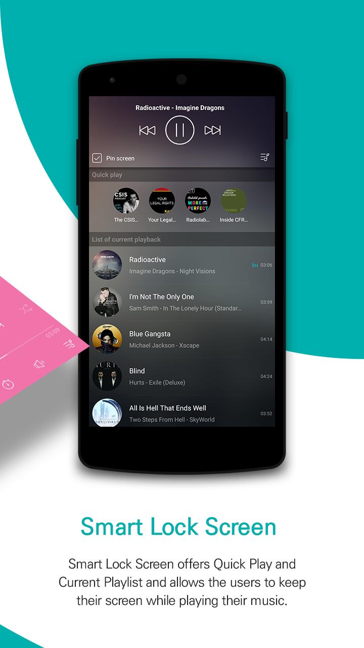 GOM Audio Plus - Music, Sync lyrics, Streaming Screenshot 1