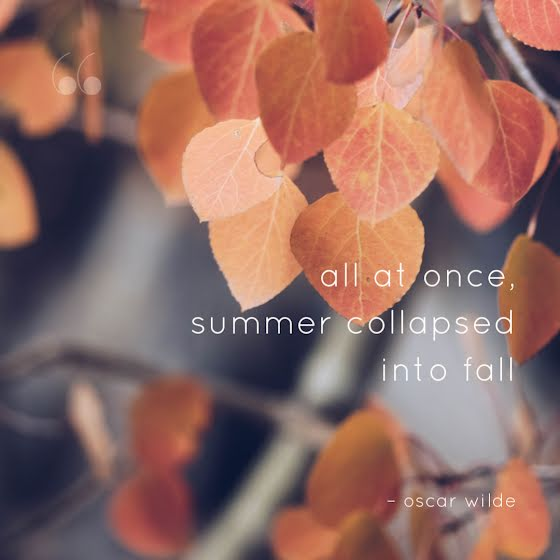 Summer Collapsed Into Fall - Instagram Post Template