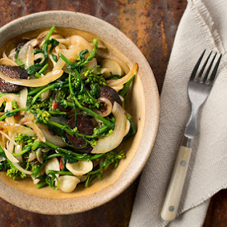 Wild Rapini with Orecchiette Pasta Recipe