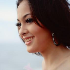 Jolene Smile by Travis Borland - People Portraits of Women ( white, asian. beauty, smile )