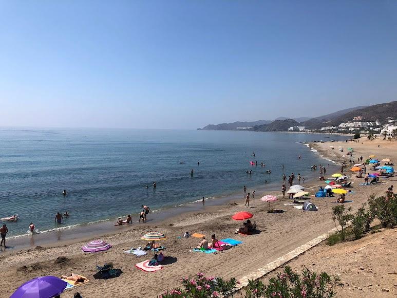 Mojácar, playas de una de las localidades más turísticas de España.