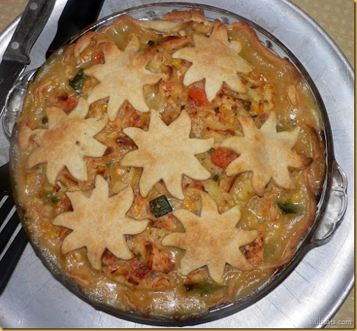 Elizabeth's turkey pie