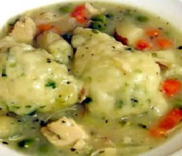 Down Home Chicken And Dumplings Recipe