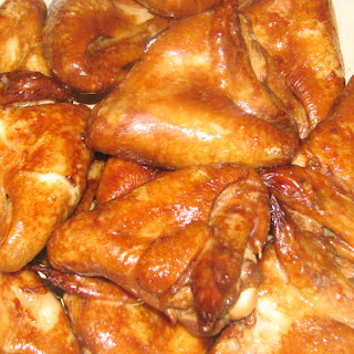 Marinated and Baked Chicken Wings