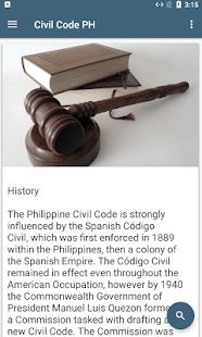 Civil Code PH - náhled