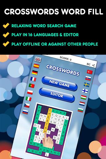 Crosswords Word Fill PRO screenshot 1