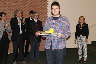 """Photo: Piccolo Agone Placidiano 2015: Vincitore per il Liceo Classico """"Lorenzo Costa"""" di La Spezia: Luca Murer (3° anno)"""