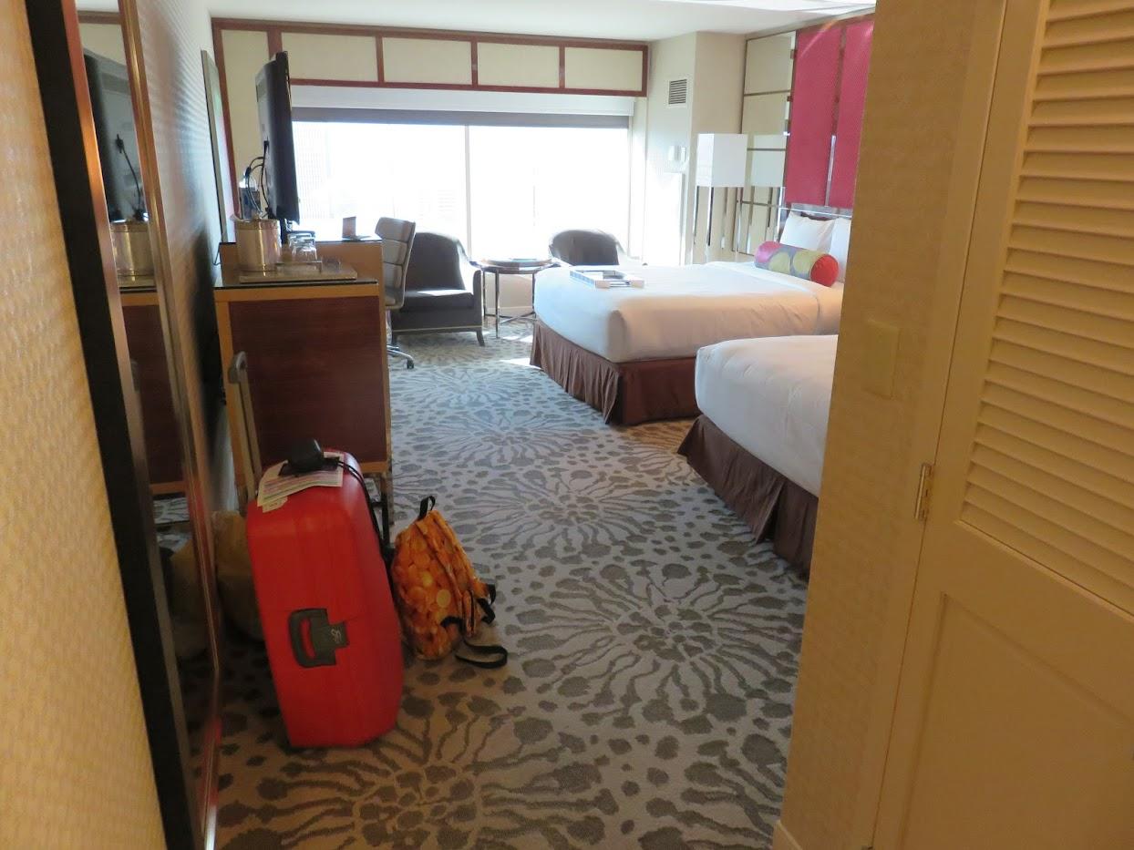 hotelkamer MGM Grand entree