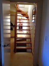 Photo: trap naar de zolder