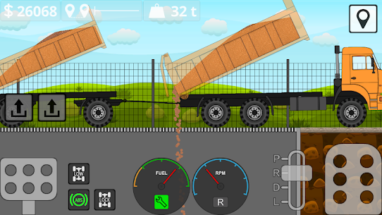 Mini Trucker – 2D offroad truck simulator Mod Apk Download For Android and Iphone 7