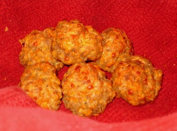 Spicy Sausage Cheese Balls Recipe