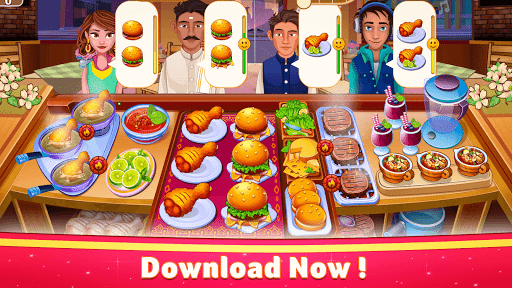 Indian Cooking Star: Chef Restaurant Cooking Games apkpoly screenshots 3