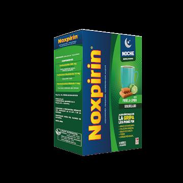 NOXPIRIN-F ADULTOS NOCHE   PANELA Y LIMON X6SOB.SIE ACETAMINOFÉN FENILEF
