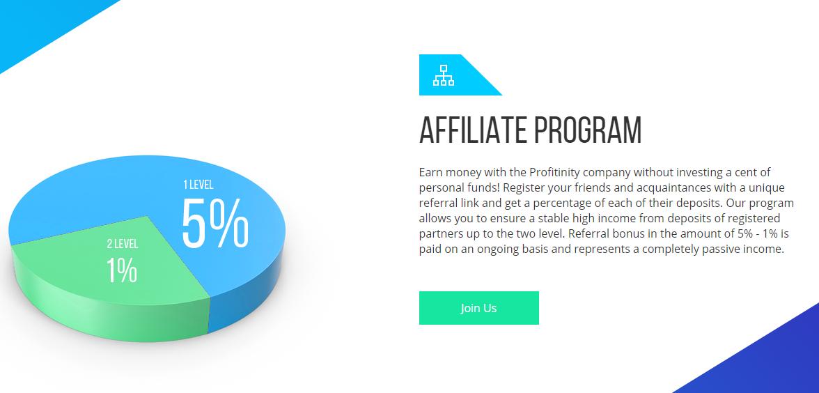 Обзор инвестиционного проекта Profitinity: отзывы о новичке рынка