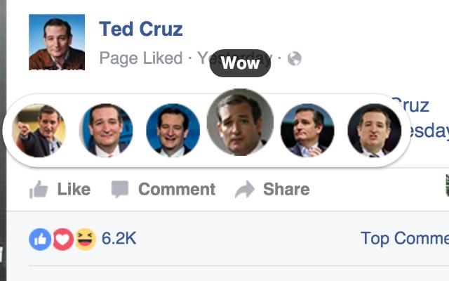 Ted Cruz Reactions