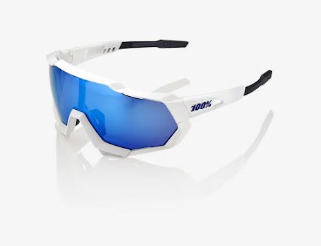 100% - Speedtrap - Matte White / Hiper Blue