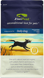ZiwiPeak Daily Dog Food - Real Meat, Grain Free, Air Dried, 1kg