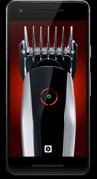 Hair Clipper Prank Android App Screenshot