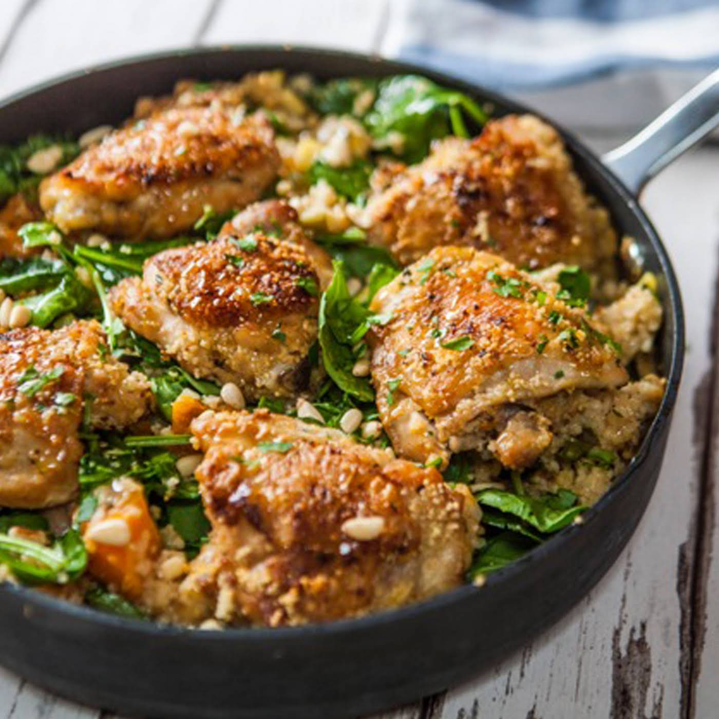 One-pot Lemon And Thyme Chicken