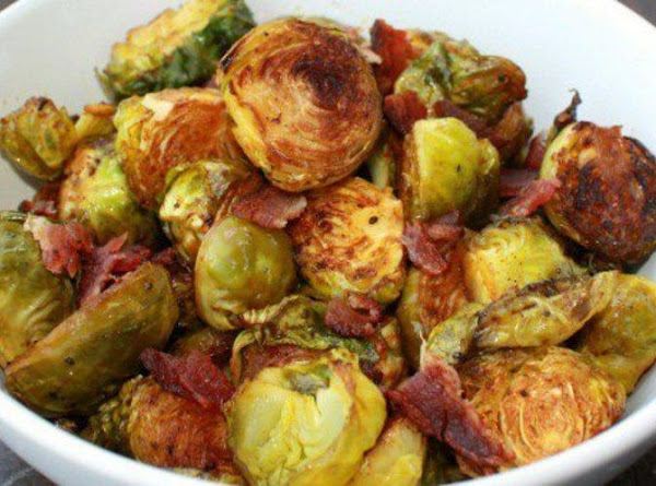 Roasted Brussels Sprouts With Bacon Recipe